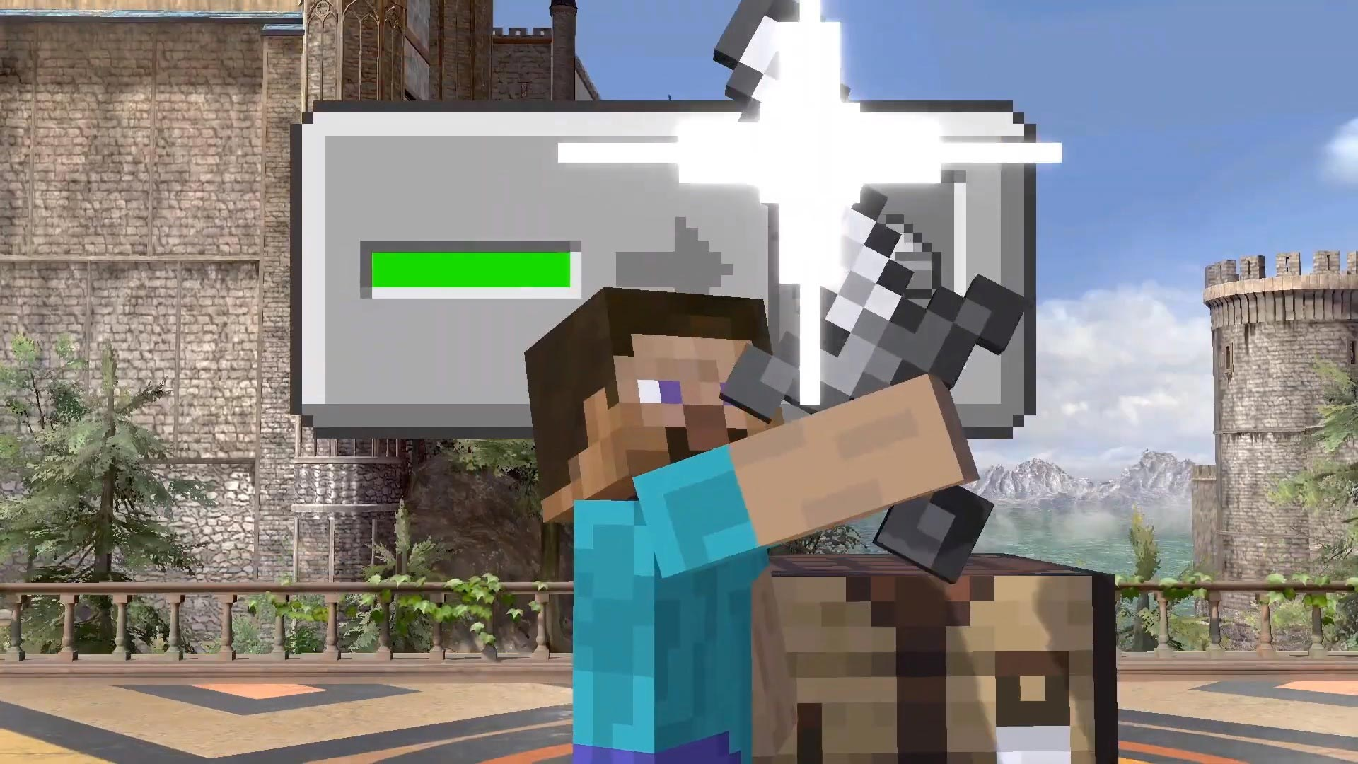 Steve from Minecraft in Super Smash Bros. Ultimate 6 out of 9 image gallery