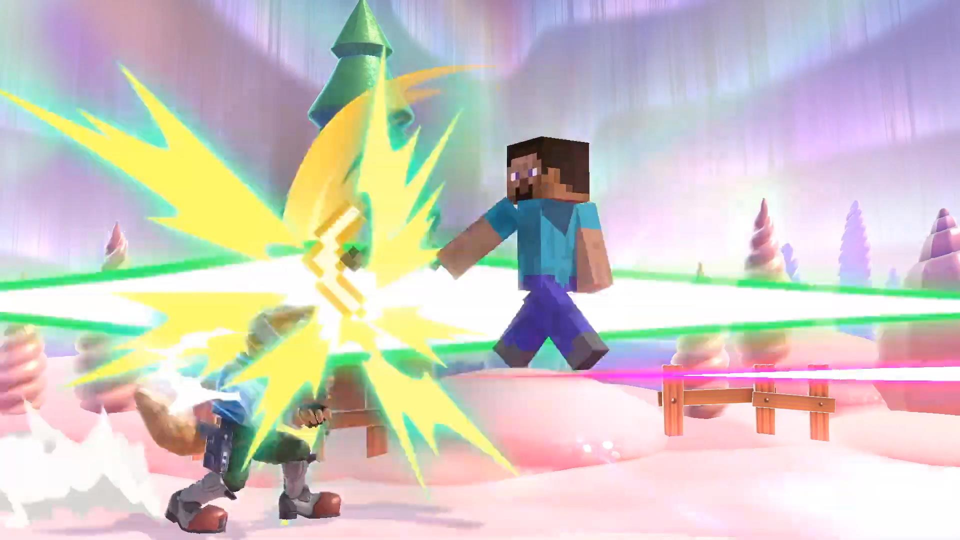 Steve from Minecraft in Super Smash Bros. Ultimate 7 out of 9 image gallery