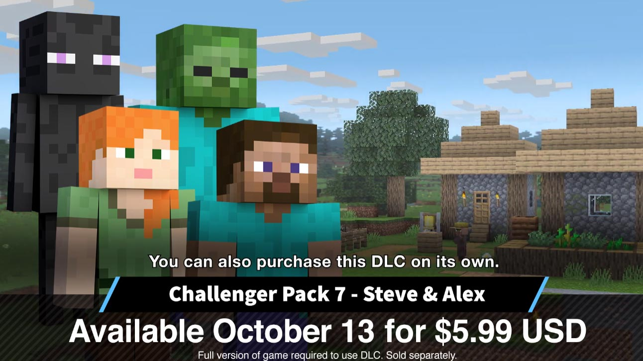 Steve release DLC screens 1 out of 7 image gallery