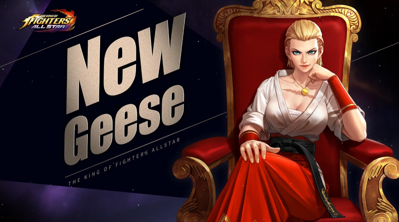 Lady Geese in KoF Allstar 3 out of 6 image gallery