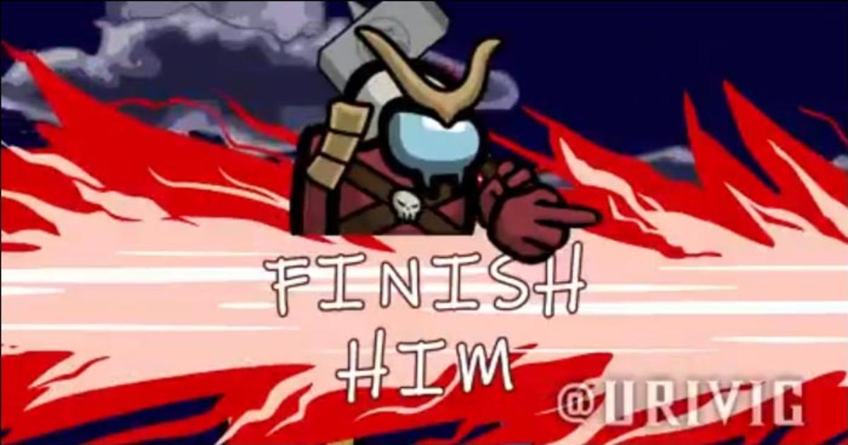 Fan Recreates Among Us Kill Animations As Mortal Kombat Fatalities