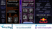 Extra Life Fight for the Kids Tekken Charity Event Schedule image #1