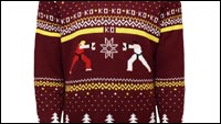 Street Fighter ugly sweater image #1