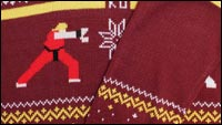Street Fighter ugly sweater image #3