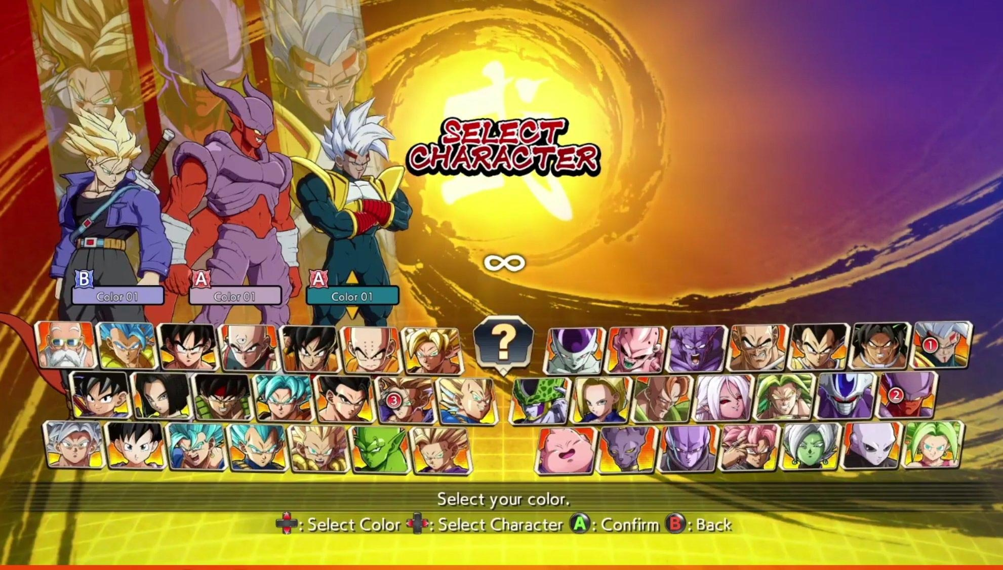 Super Baby Character Select 1 out of 1 image gallery