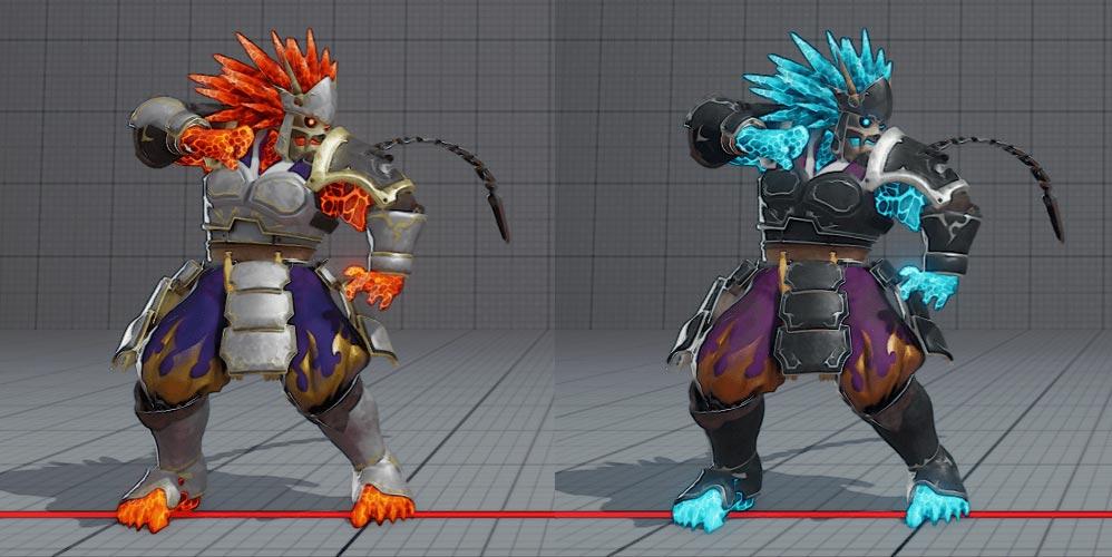Akuma's Garuda colors 5 out of 5 image gallery