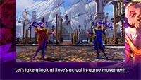 Rose details for Street Fighter 5, stage screen shots image #8
