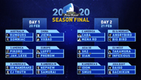 Capcom Pro Tour 2020 Season Final Fight Card  out of 1 image gallery