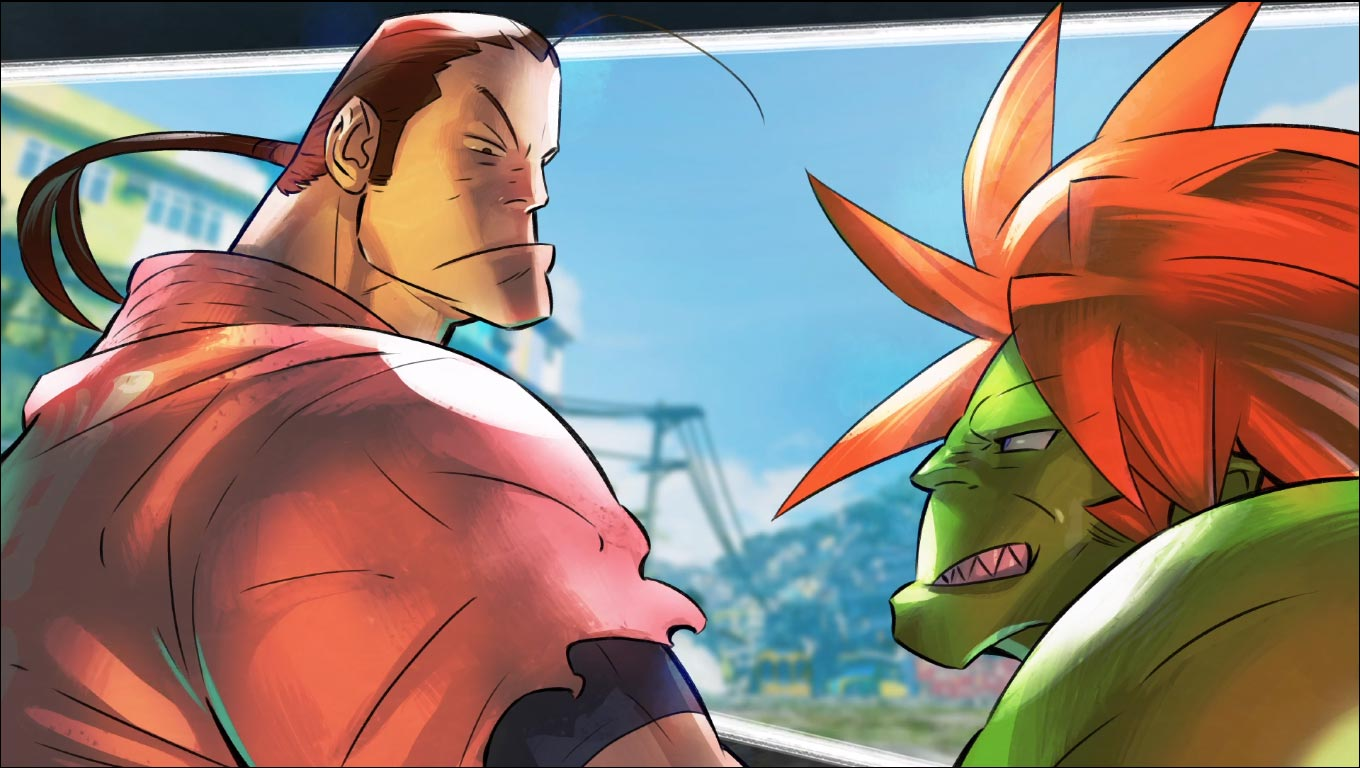 Dan Hibiki's story prologue SF5 8 out of 9 image gallery