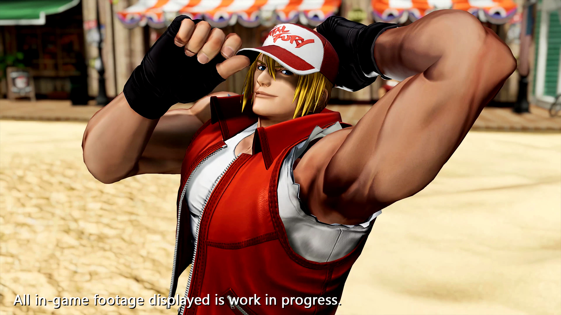 Terry Bogard reveal 2 out of 6 image gallery