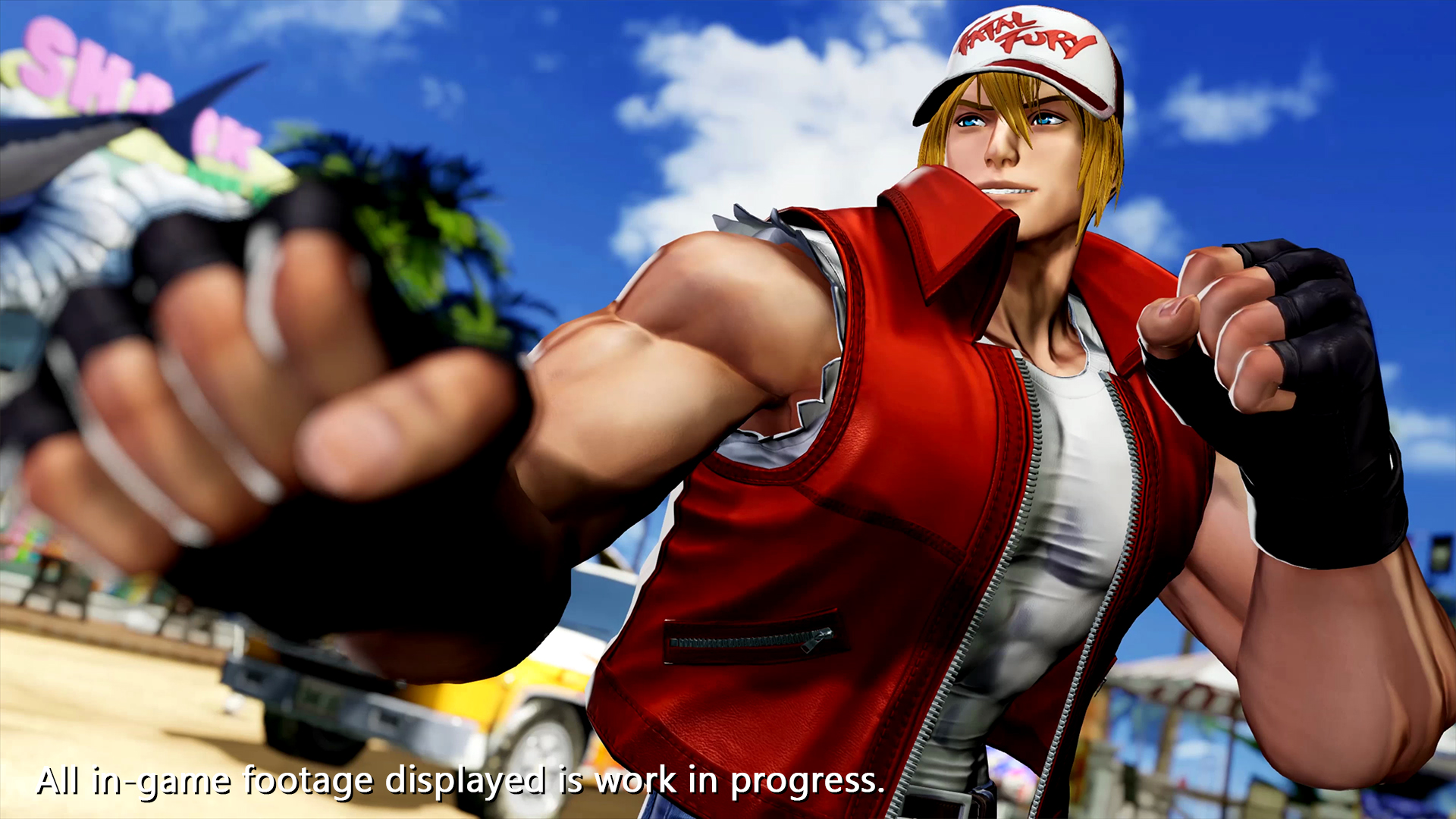 Terry Bogard reveal 3 out of 6 image gallery