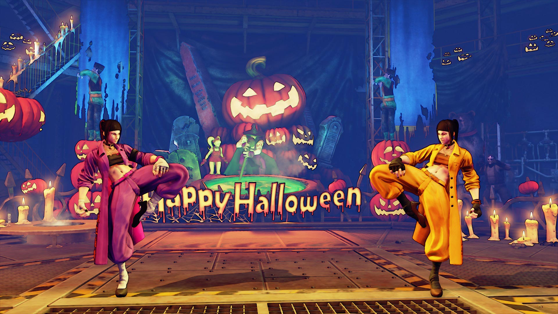 """Juri Street Fighter 5 """"Spider"""" costume 1 out of 5 image gallery"""