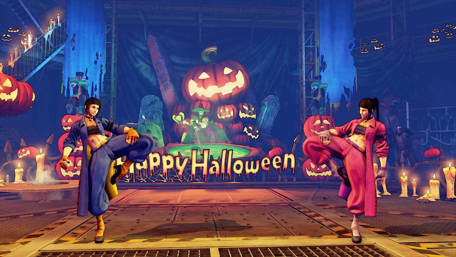 """Juri Street Fighter 5 """"Spider"""" costume 2 out of 5 image gallery"""