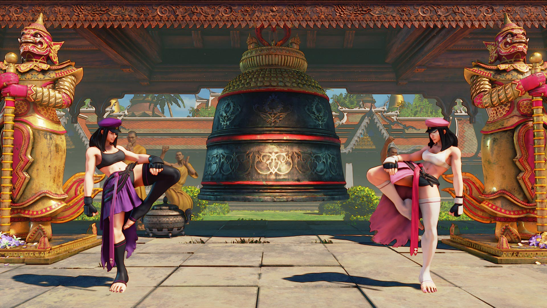 """Juri Street Fighter 5 """"True Boss"""" costume 2 out of 5 image gallery"""