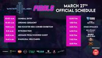 Winter Clash 2021 Finals Event Schedule image #1