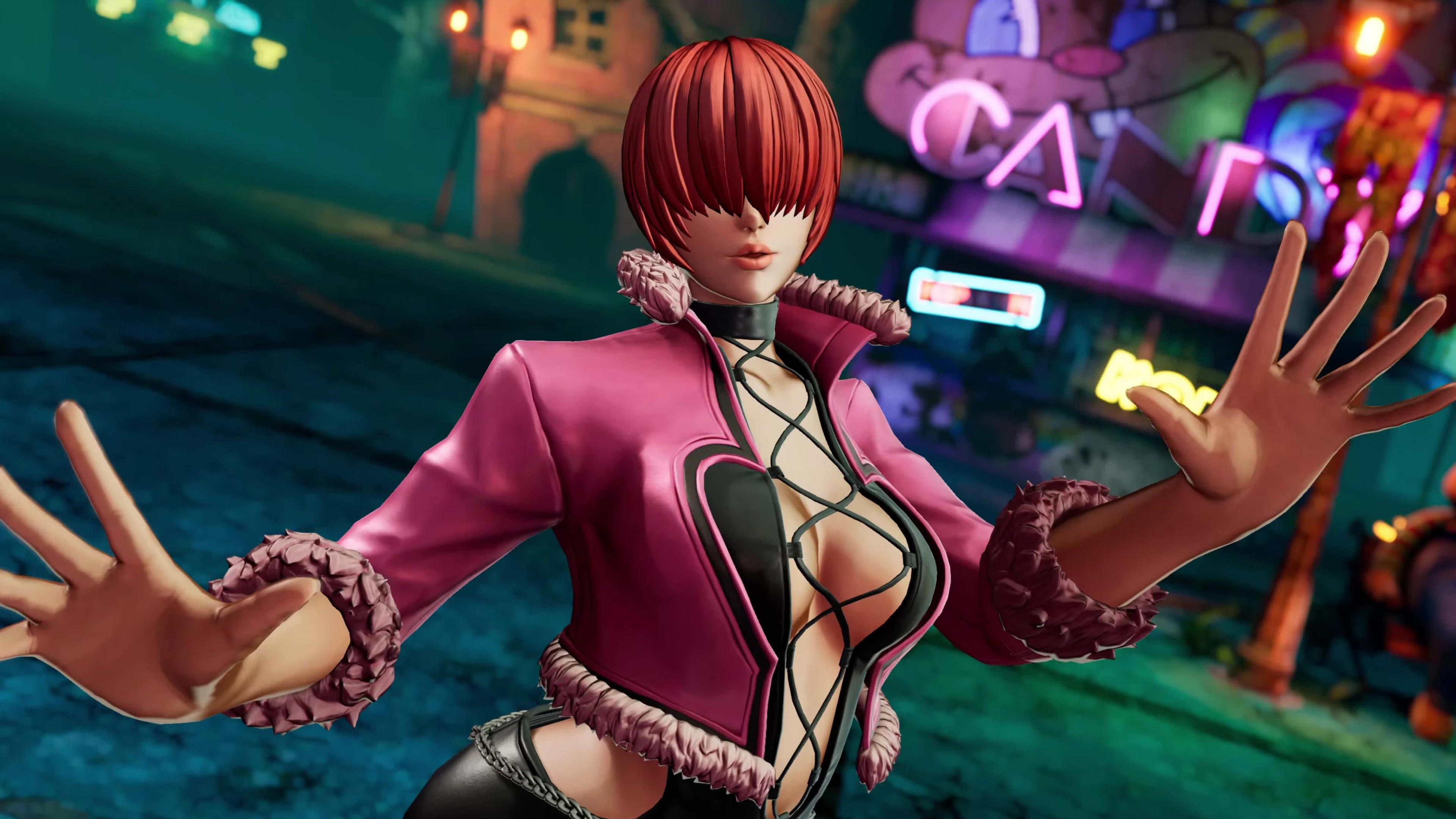 Shermie reveal 7 out of 9 image gallery