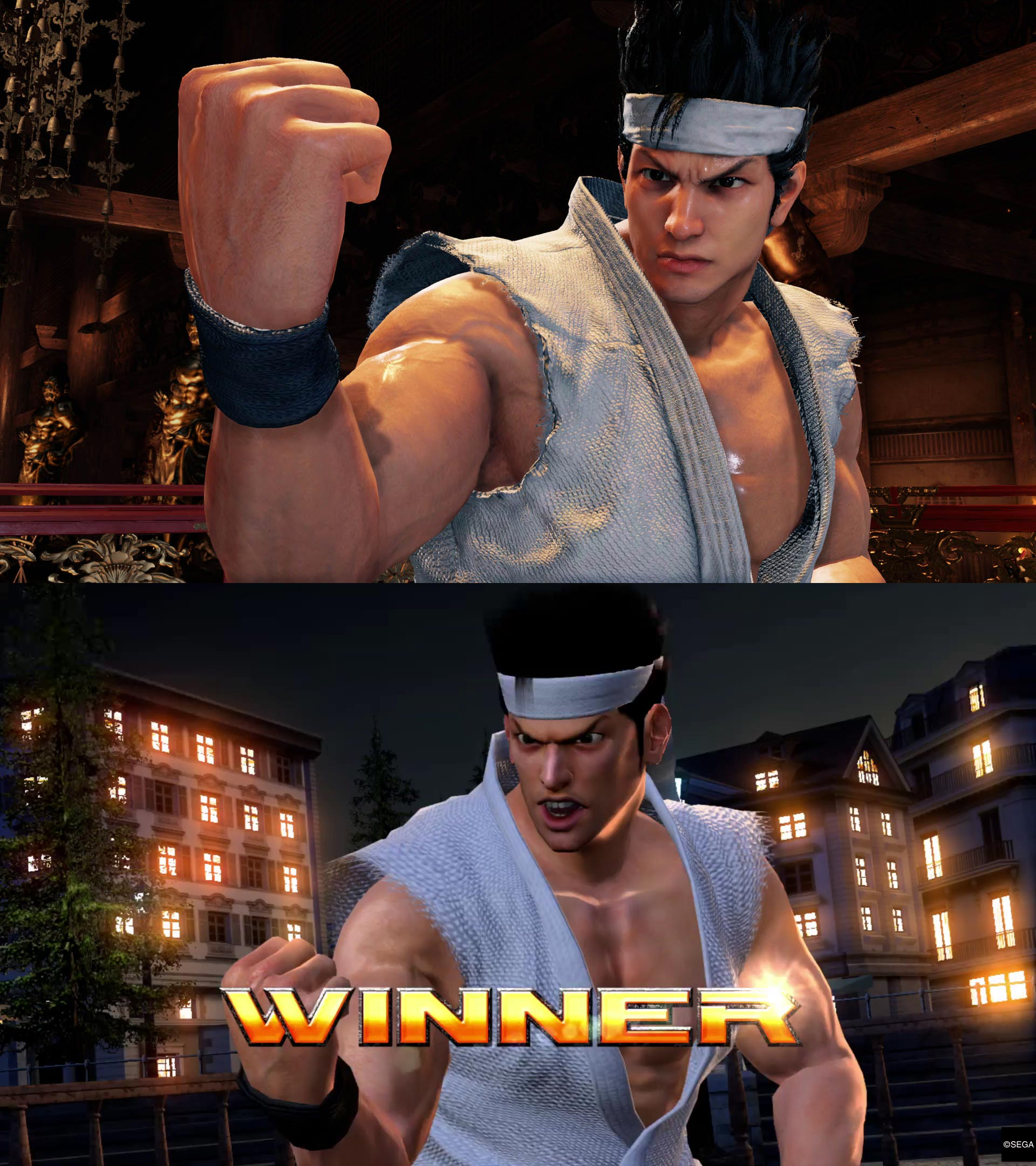 Virtua Fighter 5 graphics comparison 1 out of 5 image gallery