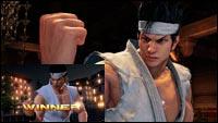 Virtua Fighter 5 graphics comparison image #1