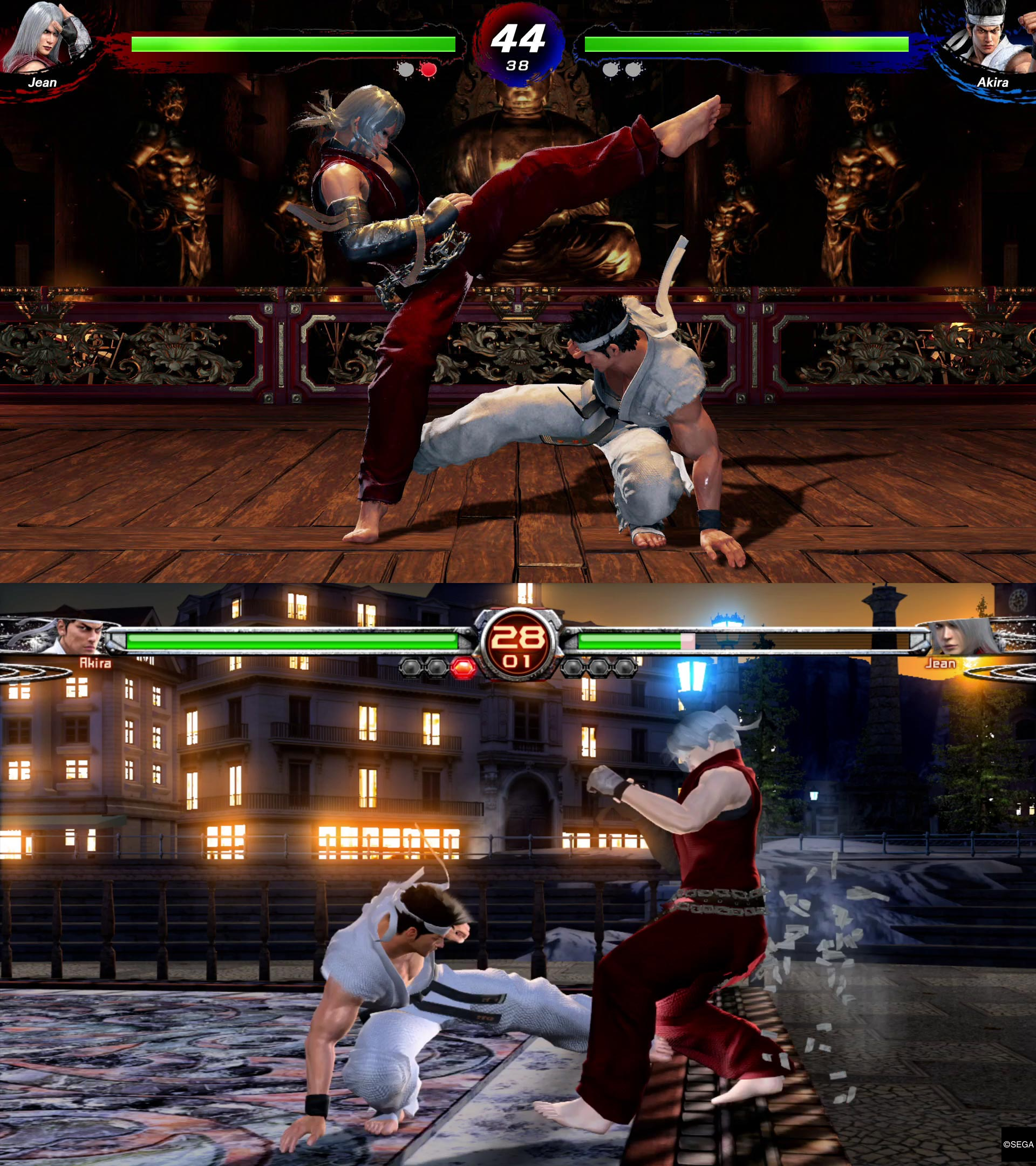 Virtua Fighter 5 graphics comparison 2 out of 5 image gallery