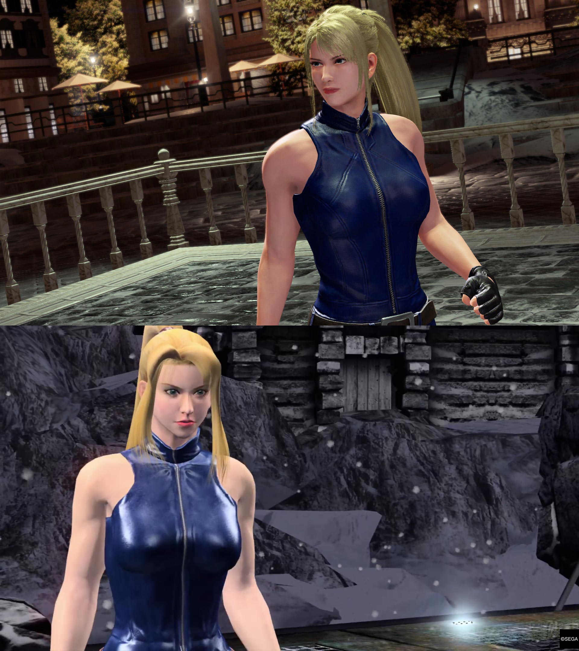 Virtua Fighter 5 graphics comparison 4 out of 5 image gallery