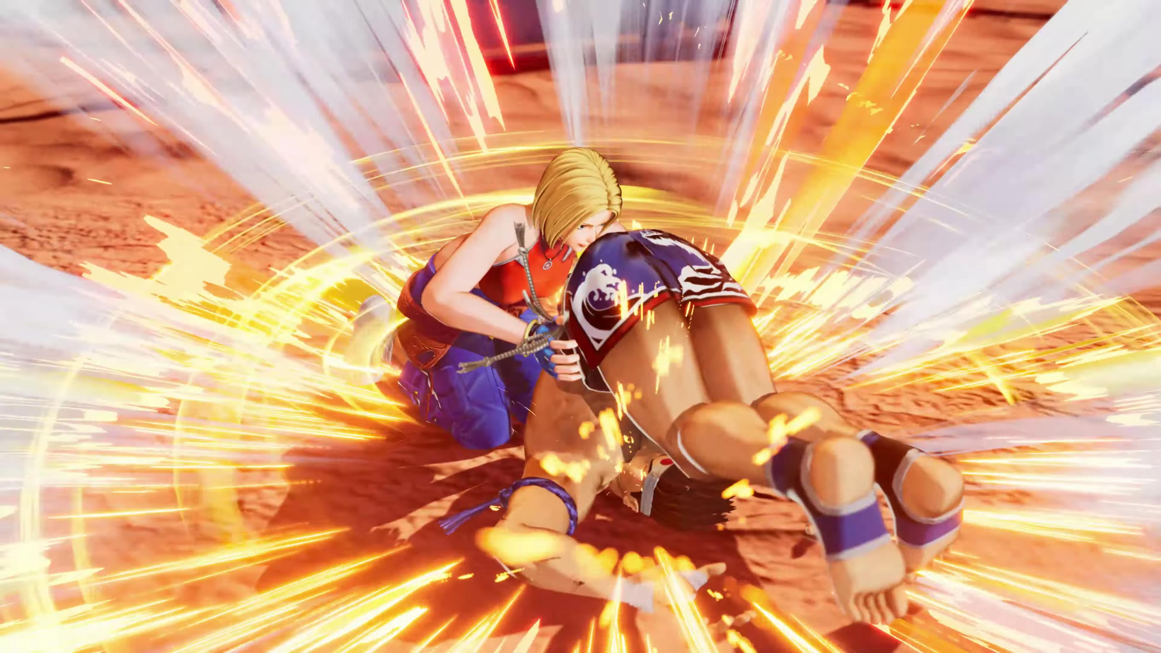 Blue Mary KOF15 10 out of 12 image gallery