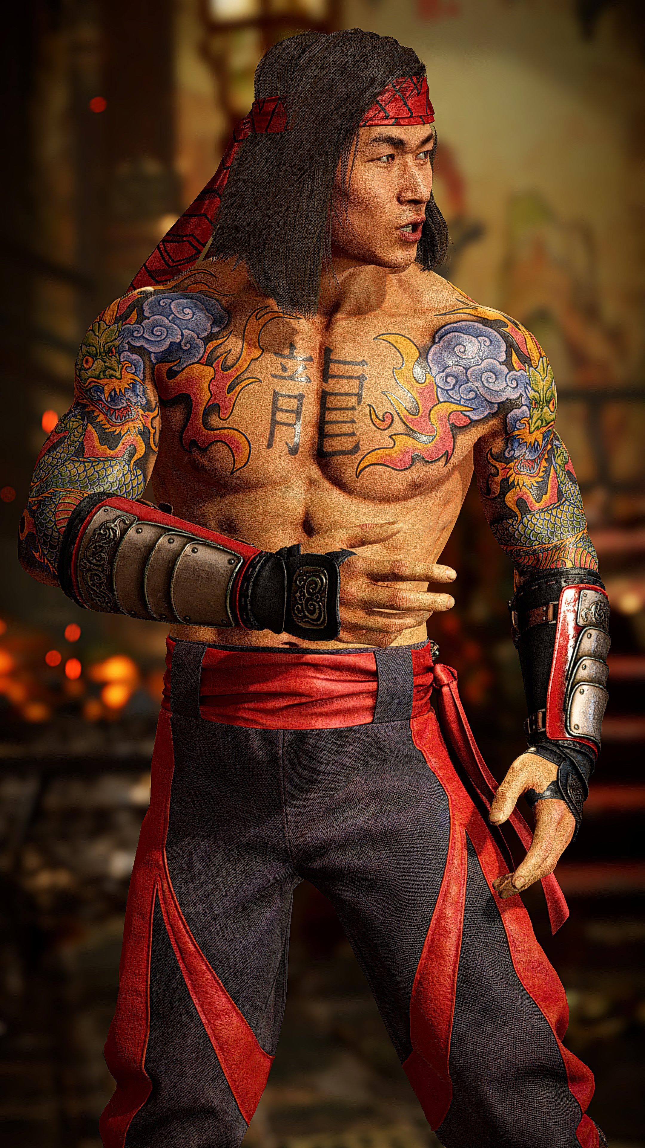 Liu Kang and Kotal Kahn rock their body paint and ink in Mortal Kombat 11 Ultimate 2 out of 8 image gallery