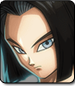 Android 17 in Dragon Ball FighterZ