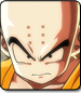 Krillin in Dragon Ball FighterZ