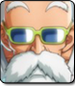 Master Roshi in Dragon Ball FighterZ