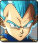 Blue Vegeta in Dragon Ball FighterZ