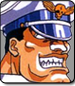 M. Bison in Street Fighter 2 Turbo