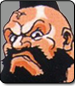 Zangief in Street Fighter 2 Turbo