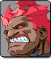 Akuma in Street Fighter Alpha 3