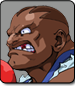 Balrog in Street Fighter Alpha 3