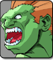 Blanka in Street Fighter Alpha 3