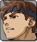 Evil Ryu in Street Fighter Alpha 3