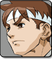 Ryu in Street Fighter Alpha 3