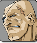 Sagat in Street Fighter Alpha 3