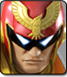 Captain Falcon in Super Smash Bros. 4