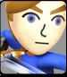 Mii Swordfighter in Super Smash Bros. Wii U