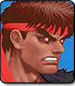 Evil Ryu in Ultra Street Fighter 2