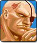 Sagat in Ultra Street Fighter 2