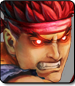 Evil Ryu in Ultra Street Fighter 4 Omega Edition