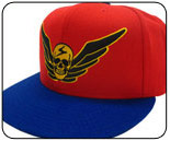 Shadaloo hats and t-shirts