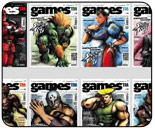 73rd issue of Games magazine features SFIV