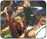 Udon Street Fighter comics on DVD