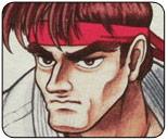 Visual history of Ryu's faces