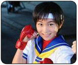 Japanese live action Street Fighter 4 commercials being filmed