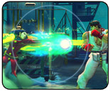 Projectile statistics for Street Fighter IV