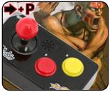 Mini Street Fighter cell phone joysticks for $13.70